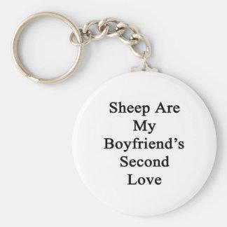 Sheep Are My Boyfriend's Second Love Keychain