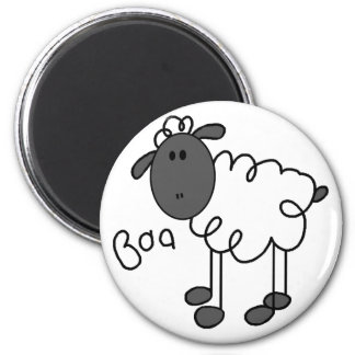 Sheep Baa Magnet