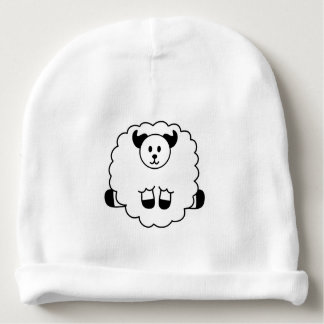 Sheep Baby Beanie