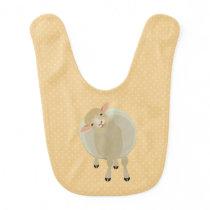 Sheep Baby Bib