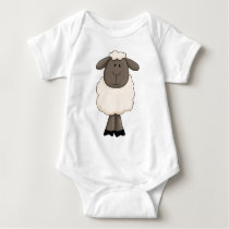 Sheep Baby Bodysuit