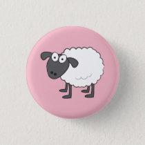 Sheep Badge Button