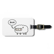 Sheep! Bag Tag