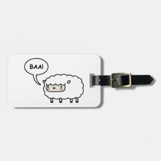 Sheep! Bag Tag