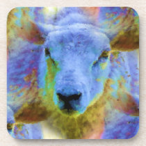 SHEEP BEVERAGE COASTER