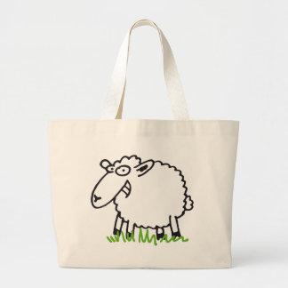 sheep bolsa tela grande