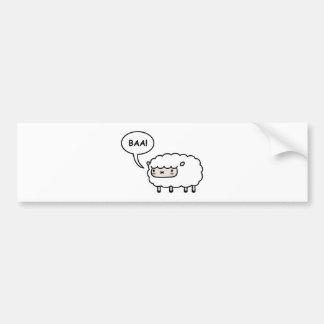 Sheep! Car Bumper Sticker
