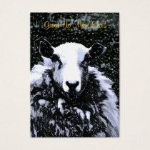 SHEEP BUSINESS CARD
