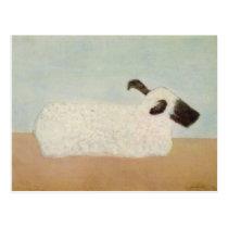 Sheep (by Milton Avery) Postcard