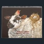 "Sheep Calendar<br><div class=""desc"">art by Vicki Sawyer containing whimsical sheep</div>"