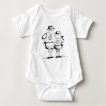 Sheep Camp Onsie Baby Bodysuit