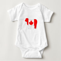 Sheep Canada Baby Bodysuit