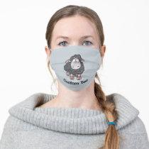 Sheep Cartoon Cloth Face Mask