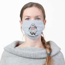 Sheep Cartoon Cloth Face Mask