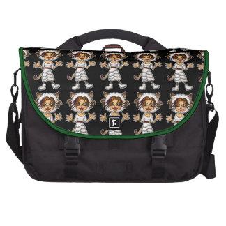 Sheep cat girl laptop computer bag