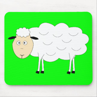 Sheep Character Mouse Pad