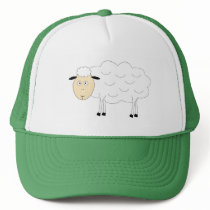 Sheep Character Trucker Hat