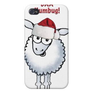 Sheep Christmas BAA Humbug! iPhone 4 Case