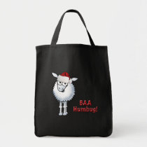 Sheep Christmas BAA Humbug! Tote bag