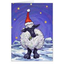 Sheep Christmas Card