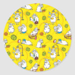 Sheep Classic Round Sticker