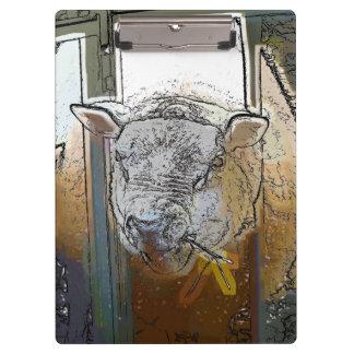 SHEEP CLIPBOARD