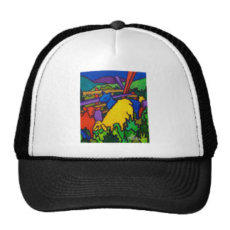Sheep Color by Piliero Mesh Hat