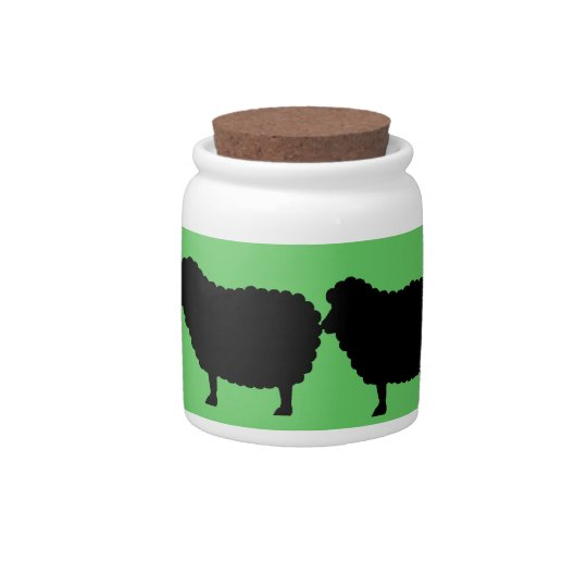 sheep cookie jar