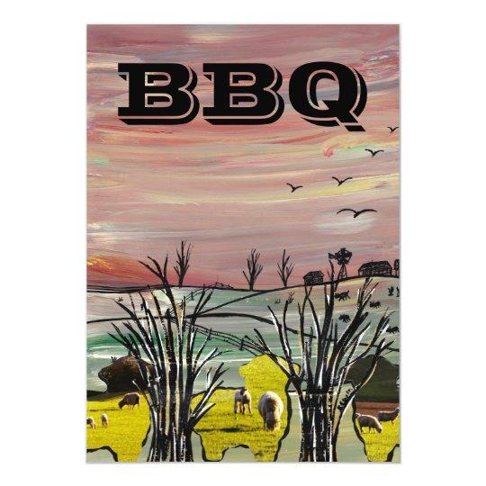 Sheep Country BBQ Card