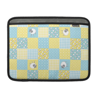 Sheep: Country Faux Patchwork MacBook Air Sleeve