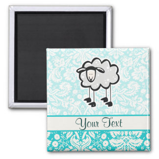 Sheep; Cute Magnet