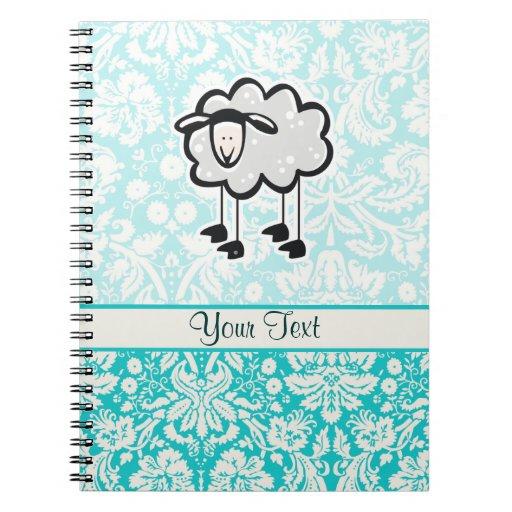 Sheep; Cute Note Book