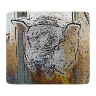 SHEEP CUTTING BOARD