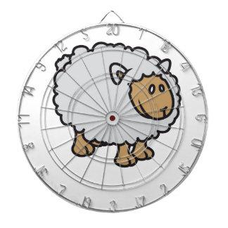 Sheep Dartboard With Darts