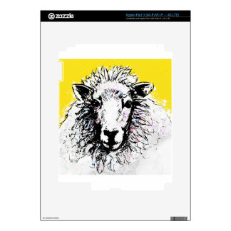 Sheep Decal For iPad 3