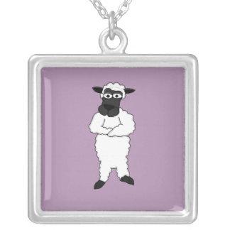 Sheep design matching jewelry set