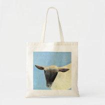 Sheep design tote bag.