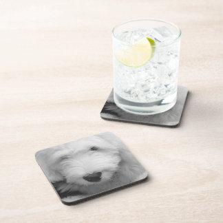 Sheep Dog  Cork Coasters