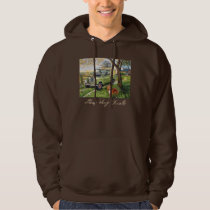 Sheep Dog Trials Hooded Sweatshirt