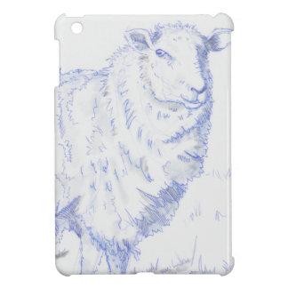 sheep drawing iPad mini covers