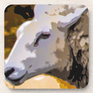 Sheep Drink Coaster