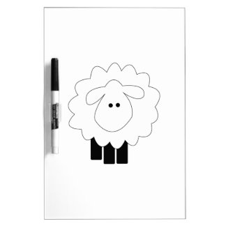 Sheep Dry-Erase Boards