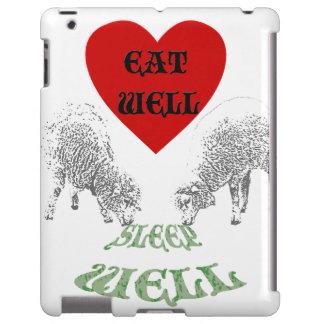 "Sheep ""Eat Well to Sleep Well"""