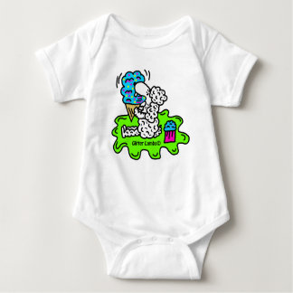 Sheep Eating An Ice Cream Cone Baby Clothes Baby Bodysuit