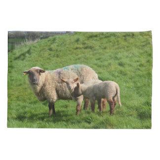 Sheep Family Pillowcase