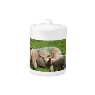 Sheep Family Teapot