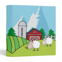 Sheep Farm Binder
