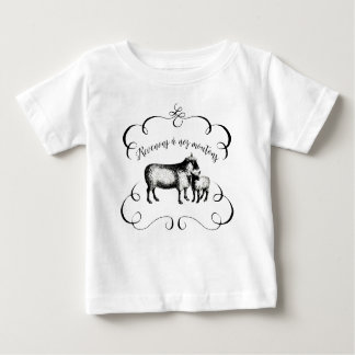Sheep Farm Funny French Expression Vintage Style T Shirt