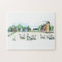 Sheep Farm Jigsaw Puzzle