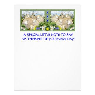 SHEEP FLOCK  Stationary Letterhead